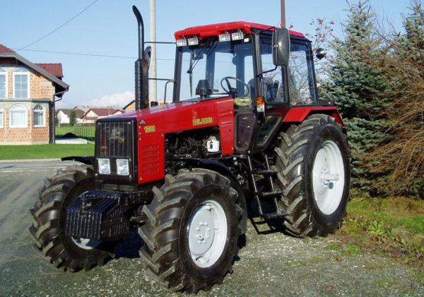 трактор мтз 1221 схема переключения передач