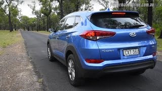 Hyundai Tucson 1.6T 0-100km/h & engine sound
