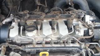 Hyundai Tucson 2008 CRDI 2.0 diesel engine, ticking noise.